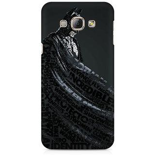 CopyCatz Lettered Dark Knight Premium Printed Case For Samsung A3 2016