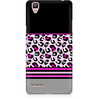 CopyCatz Pink Cheetah Fusion Premium Printed Case For Oppo F1