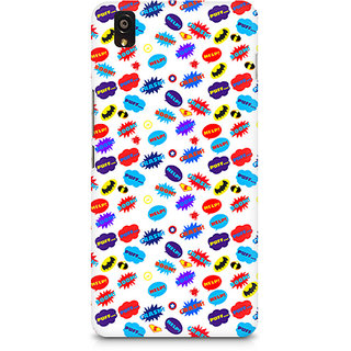 CopyCatz All Superheroes On White Clipart Premium Printed Case For OnePlus X