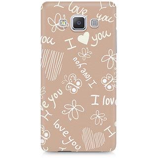 CopyCatz I Love You Premium Printed Case For Samsung A5