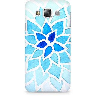 CopyCatz Lotus Blue Premium Printed Case For Samsung E5