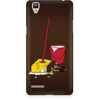 CopyCatz Minimalist Spongebob Premium Printed Case For Oppo F1 Plus