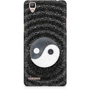 CopyCatz Yin And Yang Stones Premium Printed Case For Oppo F1 Plus