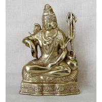 God Shiva Mahadev Brass Statue,Religious Gift Idol For Pooja,Statue For Temple