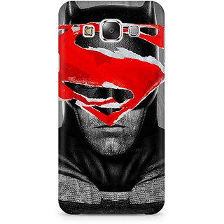CopyCatz Batman With Superman Logo Premium Printed Case For Samsung E5