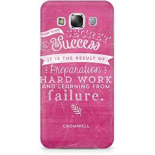 CopyCatz Secret To Success Premium Printed Case For Samsung E7