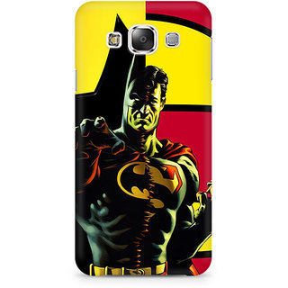 CopyCatz Batman Within Superman Premium Printed Case For Samsung E5