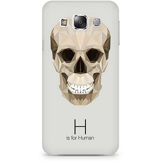CopyCatz H For Human Premium Printed Case For Samsung E5
