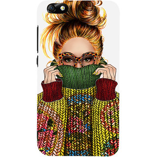 Snapdilla Multicolor Plastic Crazy Look Back Cover For Huawei Honor 4X And Huawei Glory Play 4X