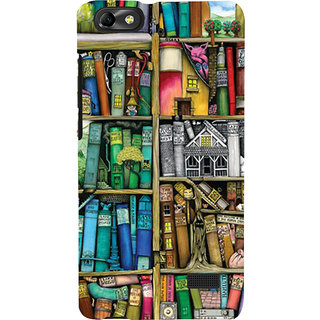 Snapdilla Multicolor Plastic Crazy Look Back Cover For Huawei Honor 4C And Huawei G Play Mini