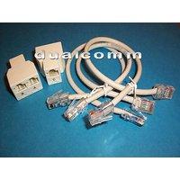 Ethernet RJ45 Splitter Cable Sharing Kit For Two Ethern