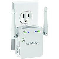 NETGEAR N300 Wall Plug Version  Wi-Fi Range Extender (W