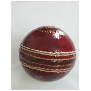 0a187f15d05 Navex Red Cricket Leather Ball HS Pcking 2 pcs