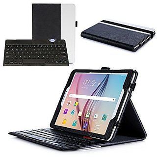 check out f9524 941bc ProCase Samsung Galaxy Tab S2 9.7 Keyboard Case - Premium Muti-angle Stand  Folio Cover Case with Slim Magnetically Detachable Bluetooth Keyboard (4mm)  ...