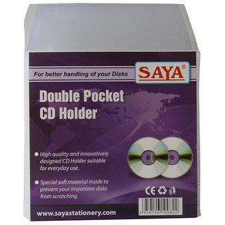 Double Pocket CD Cover (Pack Of 50)