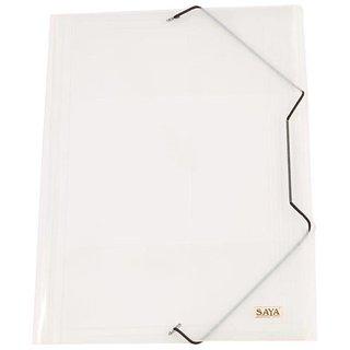 Elastic Folder (Pack Of 1, Natural)