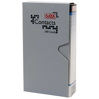240 Card Holder - Classic (Pack Of 1 Grey)