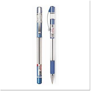 Montex Mega Top Blue Ball Pen Pack Of  - 35 Pen  ( 1 Pen Free)