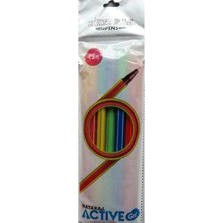 Nataraj Pack Of 100 Active Gel Pens