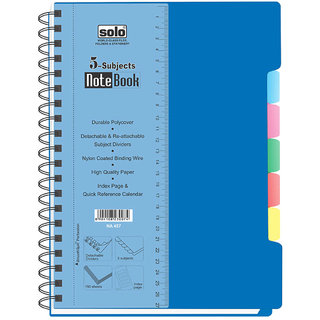 Solo 5-Subjects Note Book