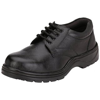 Leather Lace Up Safety Shoes