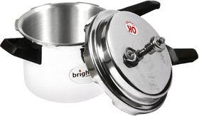 brightflame 5 Ltr Popular Pressure Cooker - Induction Base