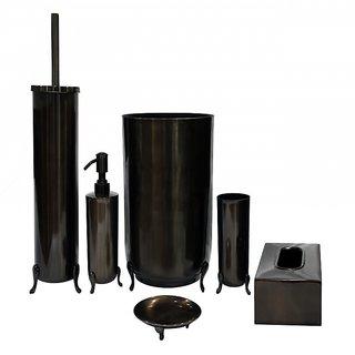 Apartment 9 Legged Dispenser + Soap Dish + Tissue Box + Brush Holder + Tumbler + Waste Bin