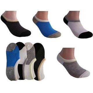 RR Accessories Men's No Show Socks(multilofar4)