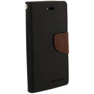 Feomy Mercury Goospery Fancy Diary Wallet Case for Coolpad Note 3 Lite -Brown