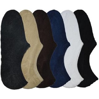 RR Accessories Men's No Show Socks(planlofarpk6)