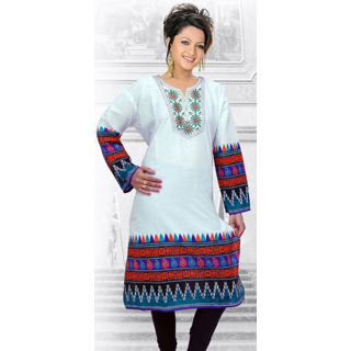 Women's Fashion   Malti color Cotton Kurti