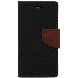 Feomy Mercury Goospery Fancy Diary Wallet Case for Motorola Moto G4 Plus / Moto G4 -Brown