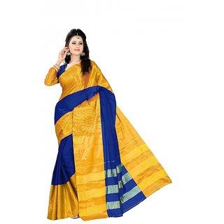 kanak new designer party wear blue color saree
