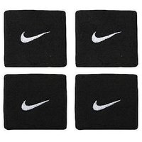 2 Sets (4 Pcs) of Sports Cotton Wrist Band - BLACK in COLOUR CODEVE-6566
