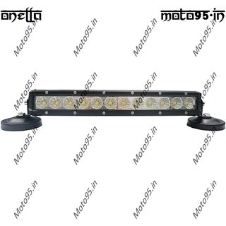 Onella 60W LED Light Bar for Car, SUV, Jeep, ATV,Truck, Bus