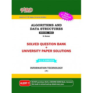 A text book of Algorithm and Data structures (VBD)