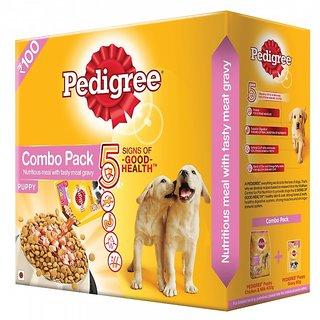 Buy Pedigree Puppy Dog Food Chicken Milk 480 Gm Small Pack