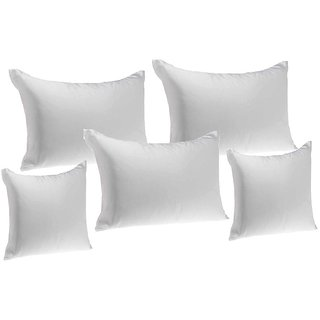 3 Pillow N 2Cushion Fillers 5 Pcs Set