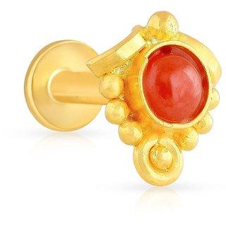 Malabar Gold Nose Pin MGAAAAAAAENO