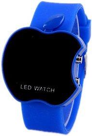Blue Cut Apple Led Watch For Boys/kids Watch