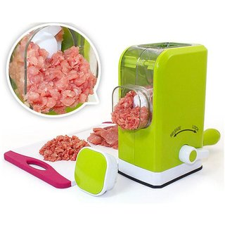 Plastic MeatIBSGrinder Chopper Mincer Green