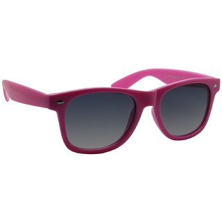 Glossy Pink Wayfarer Men Sunglasses By Royal Td10070