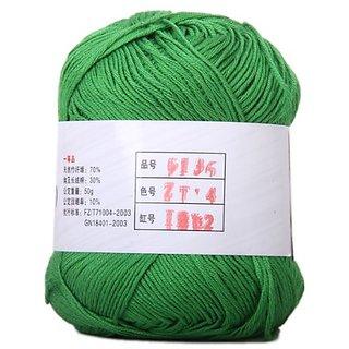 Tencel Bamboo Cotton Yarn For Baby -Grass Green