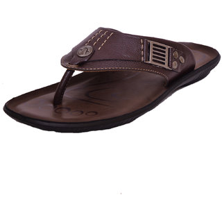 ATHLEGO - MEN'S SYNTHETIC LEATHER SLIPPERS