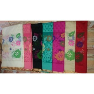Ayan Silk Sarees - Retailer of monika cotton saree, silk sarees  cotton silk sarees in Varanasi, Uttar Pradesh.