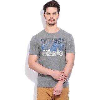 Round Neck Grey T-Shirt