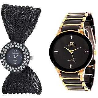 True Choice New Brand Black Deal Analog Watch For Cupel