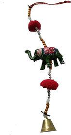 Jaipuri Haat Matte Rajasthani Elephant Door Hanging