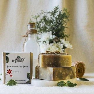 Nature's Emporium Spearmint Eucalyptus Natural Handmade Soap