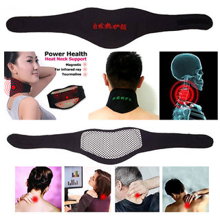 SELF HEATING Neck pain reliever,massager,warmer,magnetic therapy neck pad+1 Gift